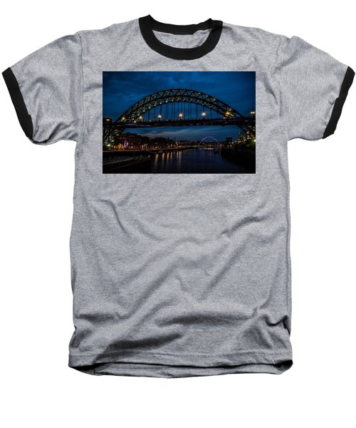 Bridge At Dusk Baseball T-Shirt