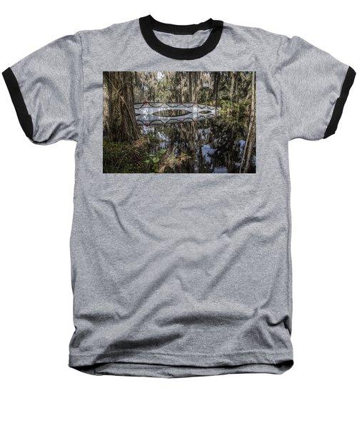 Bridge At Magnolia Plantation Baseball T-Shirt