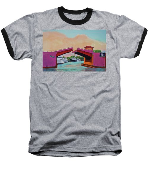 Bridge At Se 3rd Baseball T-Shirt
