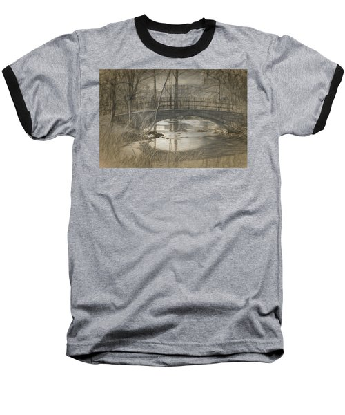 Bridge At The Fens Baseball T-Shirt