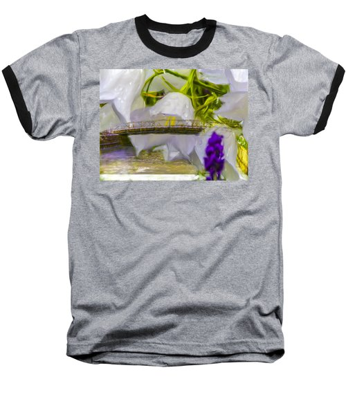 Bridge Flower.  Baseball T-Shirt