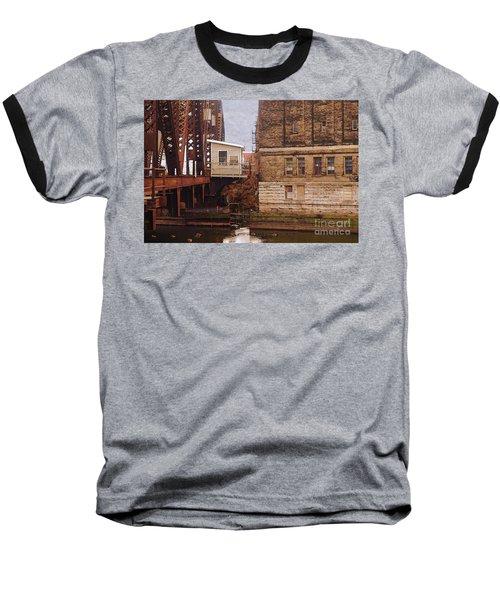 Bridge House Baseball T-Shirt by David Blank