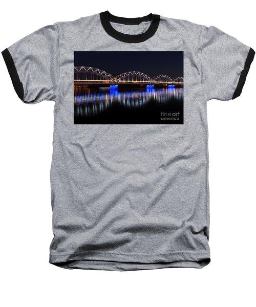 Bridge In Riga  Baseball T-Shirt
