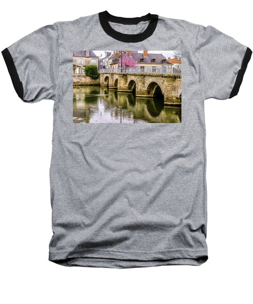 Bridge In The Loir Valley, France Baseball T-Shirt