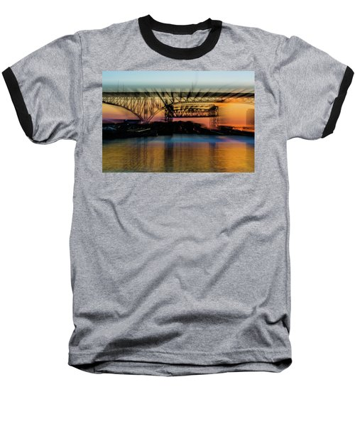 Bridge Motion Baseball T-Shirt