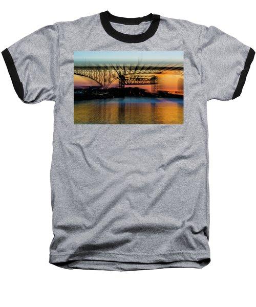 Bridge Motion Baseball T-Shirt