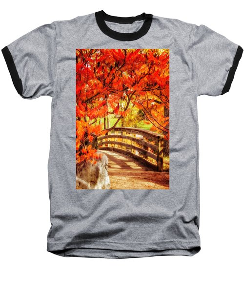 Bridge Of Fall Baseball T-Shirt