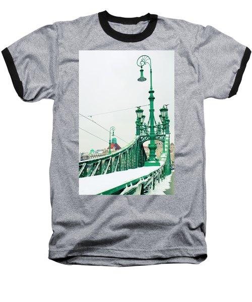 Bridge Of Liberty In Budapest Baseball T-Shirt