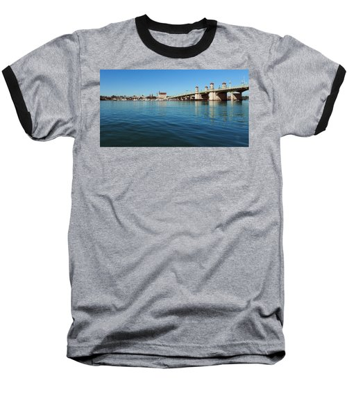 Bridge Of Lions, St. Augustine Baseball T-Shirt