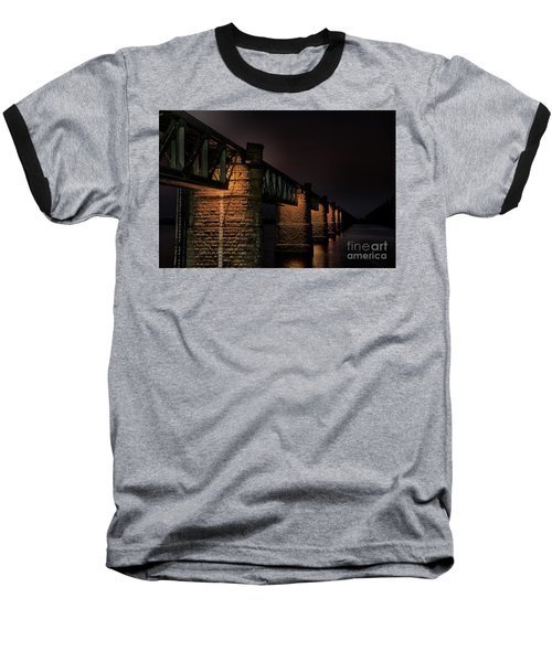 Bridge On Holy River Godavari Baseball T-Shirt