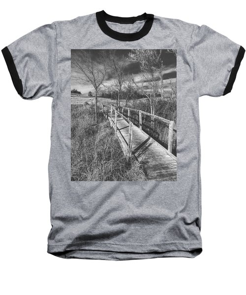 Bridge On The Prairie Baseball T-Shirt