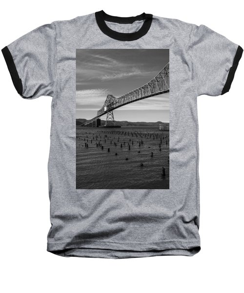 Baseball T-Shirt featuring the photograph Bridge Over Columbia by Jeff Kolker