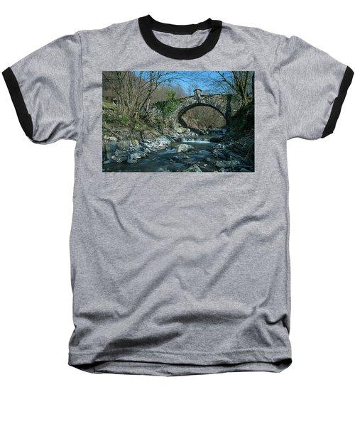 Bridge Over Peaceful Waters - Il Ponte Sul Ciae' Baseball T-Shirt