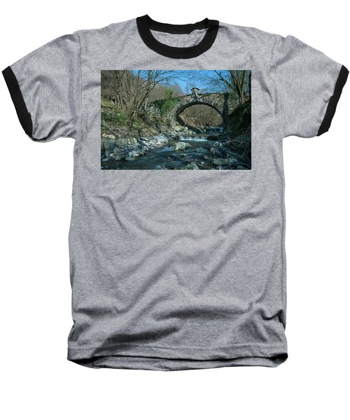 Bridge Over Peaceful Waters - Il Ponte Sul Ciae' Baseball T-Shirt