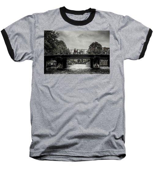Bridge Over Still Water Baseball T-Shirt