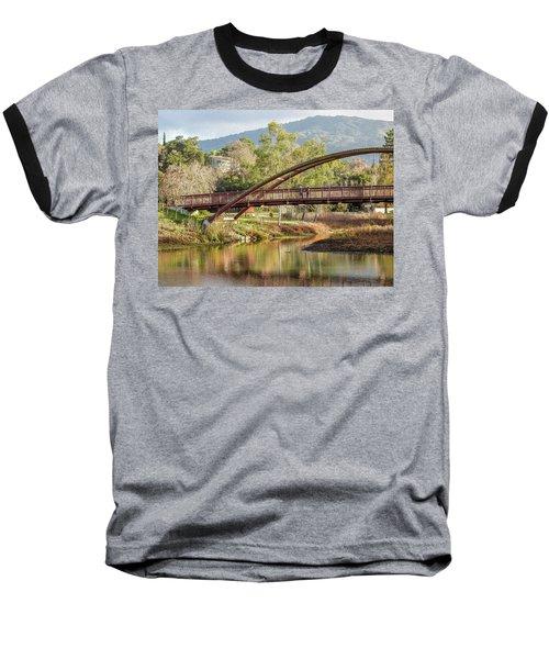 Bridge Over The Creek Baseball T-Shirt
