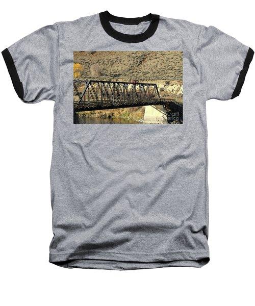 Bridge Over The Thompson Baseball T-Shirt