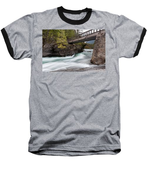 Baseball T-Shirt featuring the photograph Bridge Over Troubled Water by Fran Riley
