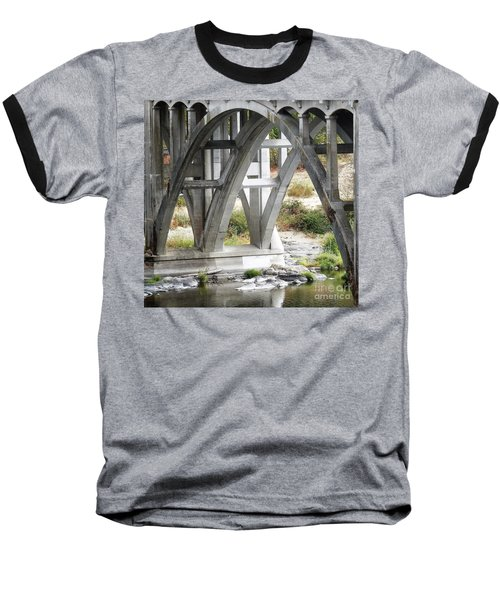 Bridge Over Umpqua Baseball T-Shirt