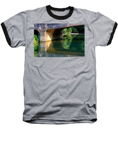 Bridge Shadow Geometry Baseball T-Shirt