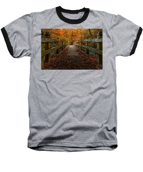 Bridge To Enlightenment 2 Baseball T-Shirt