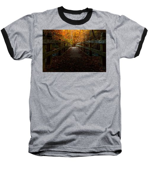 Bridge To Enlightenment Baseball T-Shirt
