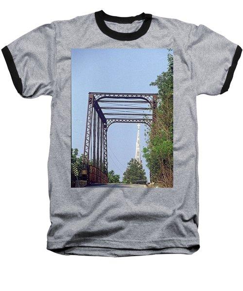 Bridge To God Baseball T-Shirt