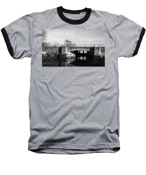 Bridge To Heaven Baseball T-Shirt by Jose Rojas