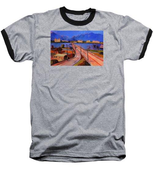 Bridge To Palm Beach Baseball T-Shirt