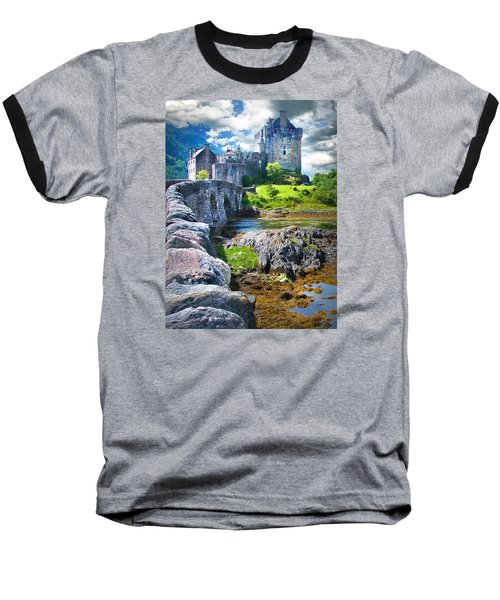Bridge To The Castle Baseball T-Shirt
