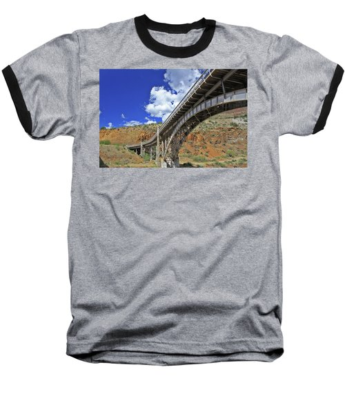 Bridge To Yesteryear Baseball T-Shirt