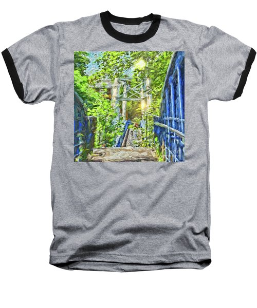 Baseball T-Shirt featuring the photograph Bridge To Your Dreams by LemonArt Photography