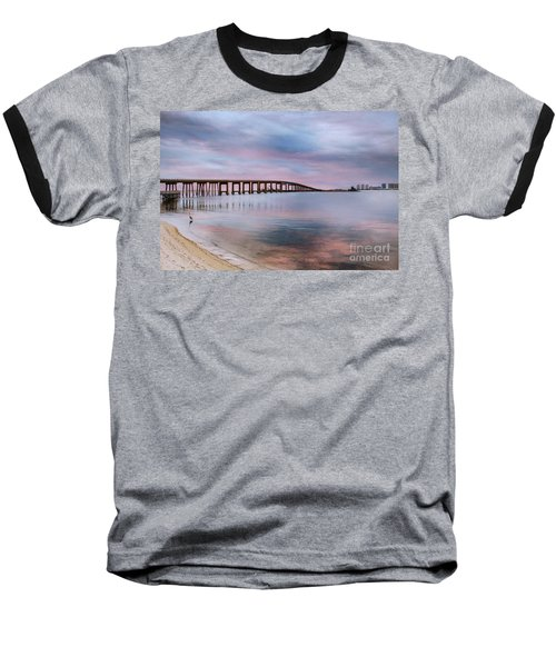 Bridge Under The Sunset Baseball T-Shirt