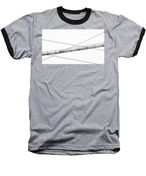 Bridge Walker Baseball T-Shirt by Joe Bonita