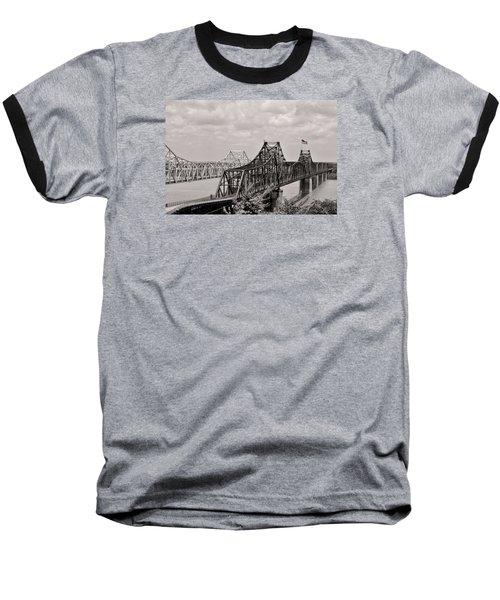Bridges At Vicksburg Mississippi Baseball T-Shirt