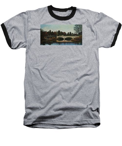 Bridges Of Forest Park Iv Baseball T-Shirt by Michael Frank