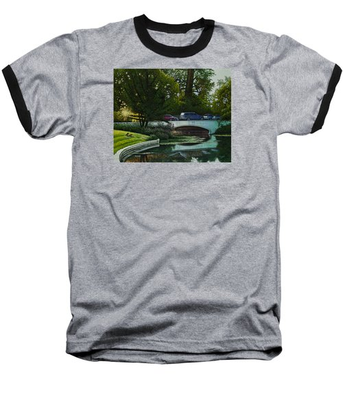 Bridges Of Forest Park V Baseball T-Shirt by Michael Frank