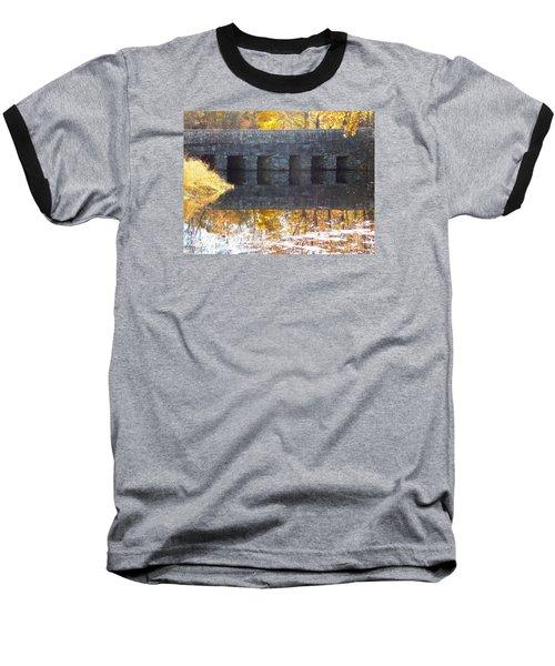 Bridges Reflection Baseball T-Shirt by Catherine Gagne