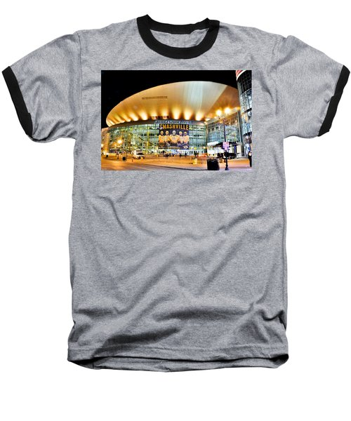 Bridgestone Arena Baseball T-Shirt