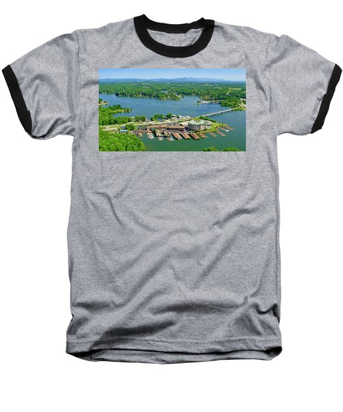 Bridgewater Plaza, Smith Mountain Lake, Virginia Baseball T-Shirt