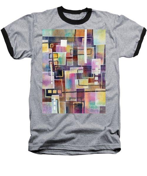Baseball T-Shirt featuring the painting Bridging Gaps by Hailey E Herrera