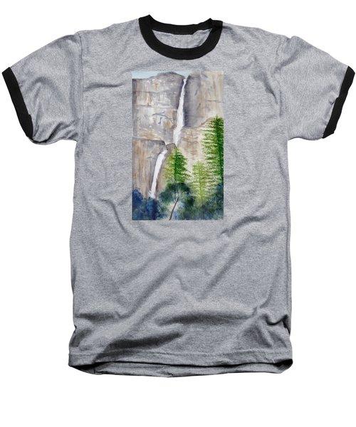 Bridal Veil Waterfall Baseball T-Shirt