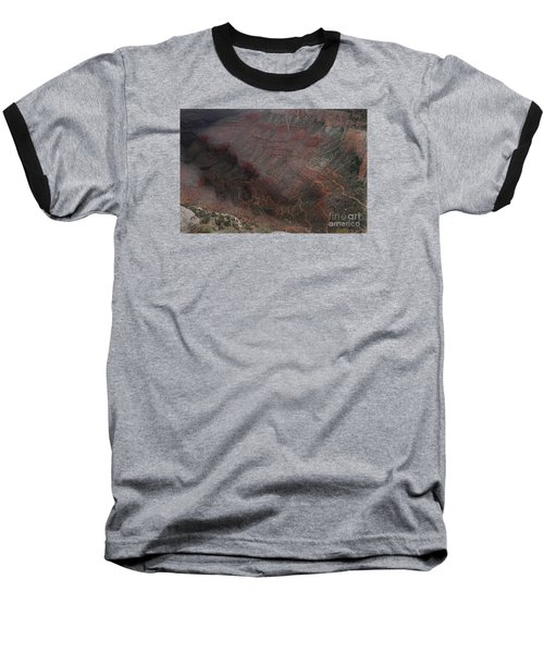 Bright Angel Trails Off Baseball T-Shirt by William Fields
