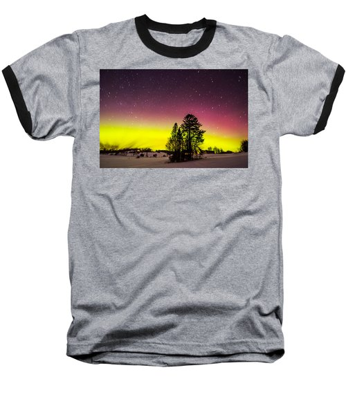 Bright Aurora Baseball T-Shirt