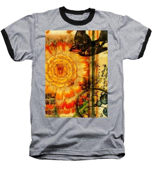 Bright Life Encaustic Baseball T-Shirt by Bellesouth Studio