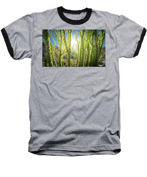 Bright Light In The Desert Baseball T-Shirt