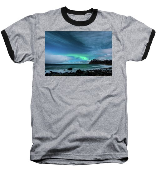 Baseball T-Shirt featuring the photograph Bright Night by Alex Lapidus