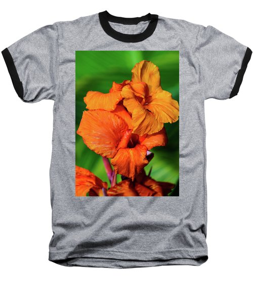 Bright Orange  Baseball T-Shirt