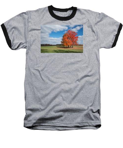 Bright Orange Tree In Va. Baseball T-Shirt