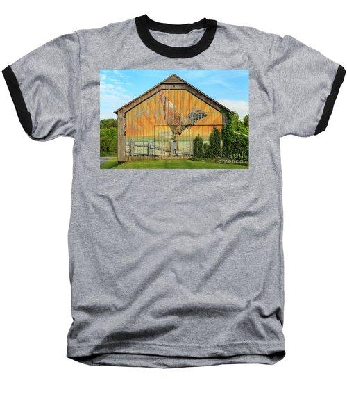 Bright Rooster Barn Baseball T-Shirt